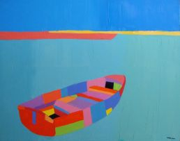 Trevor Coleman; A Lonely Boat, Jaffa