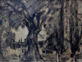 Maud Sumner; French Landscape
