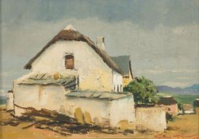 Terence McCaw; White Cottage near Caledon
