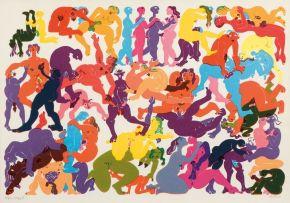 Walter Battiss; Orgy 5