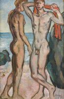François Krige; Two Bathers