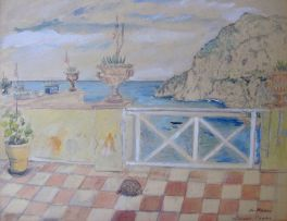Enslin du Plessis; The Terrace, Capri
