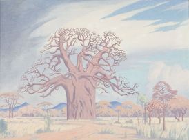 Jacob Hendrik Pierneef; Baobab Tree