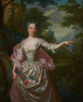 Hieronymous van der Mij; Portrait of Dina Meerman