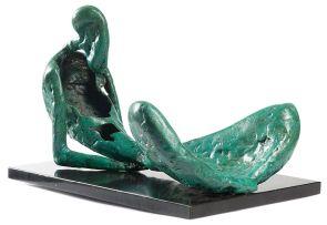 Stella Shawzin; Reclining Figure