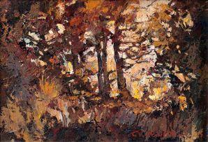 Titta Fasciotti; Autumn Trees