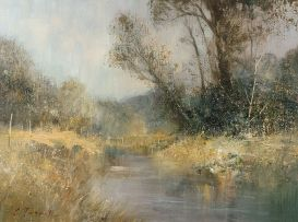 Christopher Tugwell; River Landscape