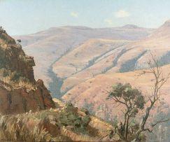 Willem Hermanus Coetzer; Mountain Landscape