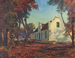Edward Roworth; Cape Dutch Homestead