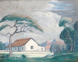 Jacob Hendrik Pierneef; A House in the Transvaal