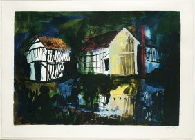 John Piper; Lower Brockhampton