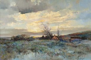 Errol Boyley; Landscape with a Farmhouse