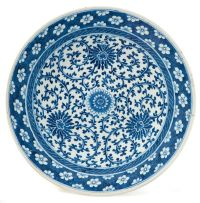 A Chinese blue and white dish, early 20th century