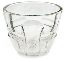 A Baccarat clear cut-glass bowl