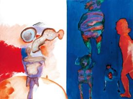 Robert Hodgins; Igor Stravinsky & Four Women