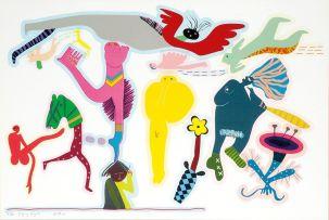 Walter Battiss; Flying Angels