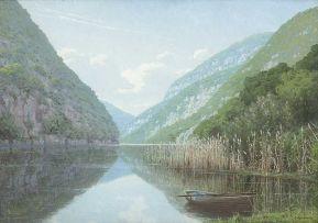Jan Ernst Abraham Volschenk; The Keurbooms River, Knysna