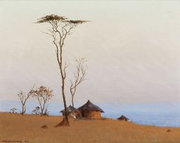 Willem Hermanus Coetzer; Twilight in the Bushveld nr Leydsdorp, Tvl