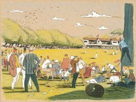 Leng Dixon; The Western Province Cricket Ground