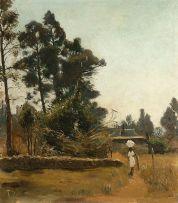 Frans Oerder; A Washerwoman