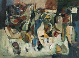 Eben van der Merwe; Abstract Still Life