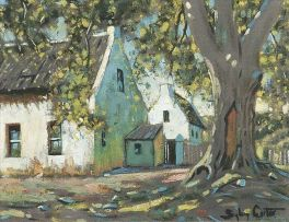 Sydney Carter; Cape Houses in the Shade