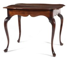 A Cape stinkwood and teak side table, 18th century
