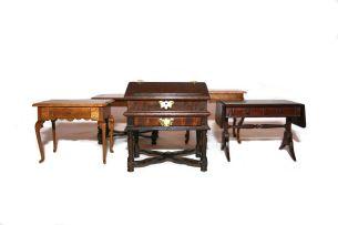 Five miniatures of Cape furniture, modern