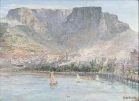 Rudolf Helmut Sauter; Table Bay, Cape Town