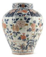 A Japanese Imari vase, late 17th/early 18th century