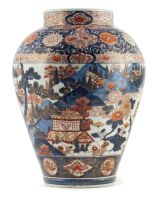 A Japanese Imari vase, late 18th/early 19th century