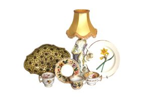 A miscellaneous group of Staffordshire china, 19th century