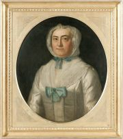 English School late 18th Century; Portrait of a Lady in a Lace Cap