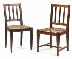 Two Cape stinkwood Overberg side chairs, 19th century