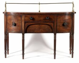 A mahogany sideboard, possibly Scottish, first quarter of 19th century