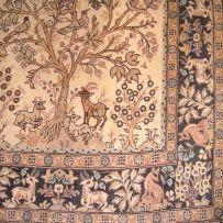 A Qum rug, Persia, modern