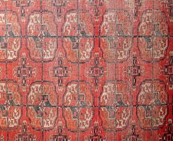 A Tekke Turkoman rug, Turkmenistan, 1900