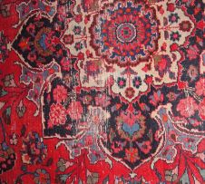 A Meshed carpet, East Persia, modern