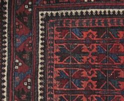 A Belouch prayer rug, East Persia, circa 1930