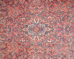 A Keshan rug, Persia, 1950
