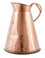 A four-gallon copper measure