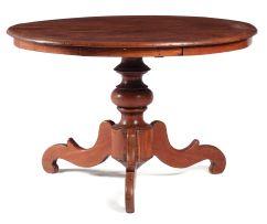 An Indonesian teak centre table
