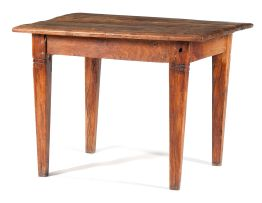 A Cape teak and yellowwood side table, 19th century