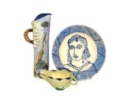 A Karen Sinovich stoneware jug, 1997