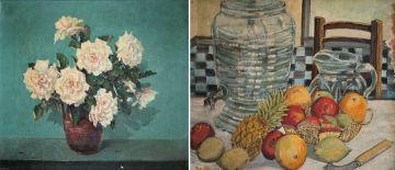 Jack (Jacobus) Pieters; Study of Roses