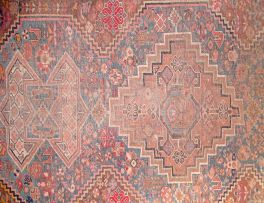 A Shiraz rug, South West Persia, circa 1940