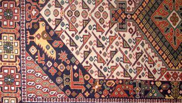 A South West Persian rug, circa 1950
