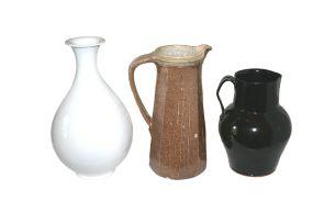 A Nina Shand and Paul de Jongh stoneware jug, modern