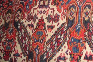 A Caucasian rug, circa 1950