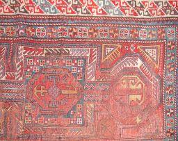 A Caucasian rug, circa 1930